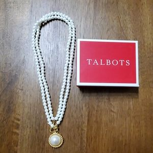 Beautiful cabochon style necklace from Talbots